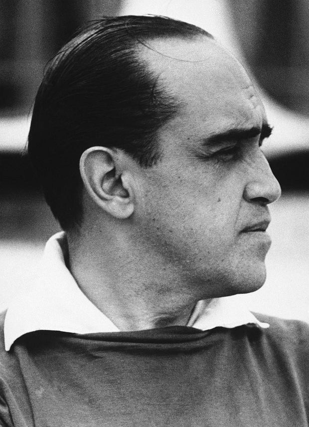 FILE - In this Dec. 20, 1967 file photo, architect Oscar Niemeyer, designer of Brasilia's public buildings, is seen in Rio de Janeiro, Brazil. According to a hospital spokeswoman on Wednesday, Dec. 5, 2012, famed Brazilian architect Oscar Niemeyer has died at age 104.  (AP Photo, File)