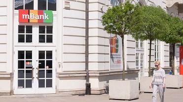 Warszawa, oddział mBanku