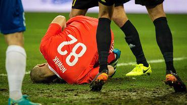 Sebastian Nowak uratował GKS w pierwszej połowie. Potem poszło już z górki