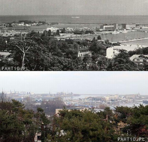 Zdjęcie numer 0 w galerii - Te same miejsca, ale zdjęcia z teraz i sprzed lat. Jak się zmieniła Gdynia