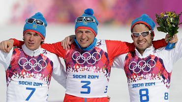 Maksym Wylegżanin, Aleksandr Legkow i Ilja Czernousow