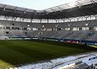 Stadion w Zabrzu nadal czeka na dokończenie budowy