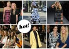 Modelki, aktorki, piosenkarki, fashionistki i blogerki na Milan Fashion Week. Kto wygl�da� najlepiej? [ZDJ�CIA]