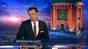 """Wiadomości"" TVP1. 12.03.2016"