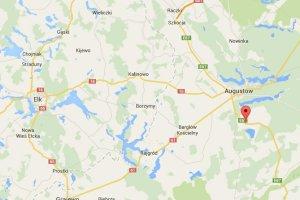 Tragiczny wypadek niedaleko Augustowa. Zderzy�y si� trzy samochody i stan�y w p�omieniach. Nie �yj� trzy osoby