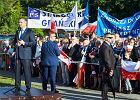 Prezydent Duda na Żuławach: Prawo do przekopu Mierzei Wiślanej jest zapisane w konstytucji
