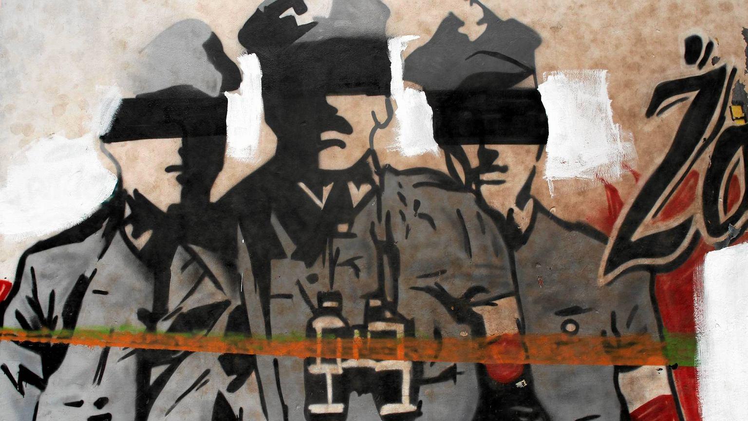 Mural dla o nierzy wykl tych na ochocie zniszczony zdj cia for Mural ursynow