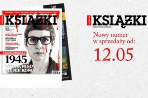 """""""Ksi��ki. Magazyn do czytania"""" - nowy numer ju� w kioskach"""
