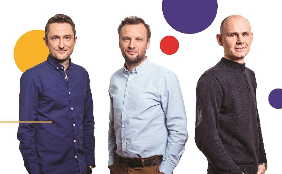 Grupa Me & My Friends. Od lewej Jakub Wolff, Bartosz Brażewicz-Dosiółko i Konrad Boksa
