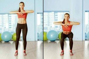 Squat - ćwiczenie dla idealnych pośladków