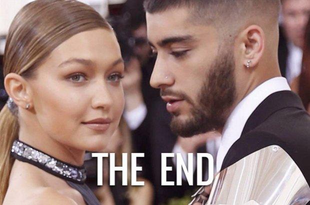 Po 7 miesiącach pięknego love story, Gigi Hadid i Zayn Malik rozstali się.