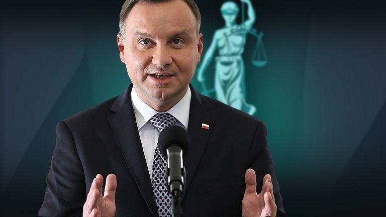 Andrzej Duda sądy