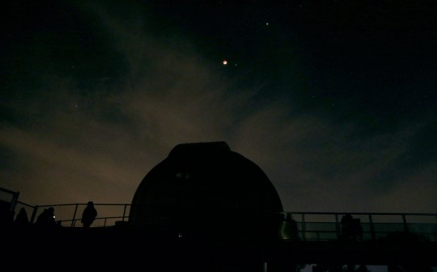 Obserwatorium astronomiczne w Kalifornii