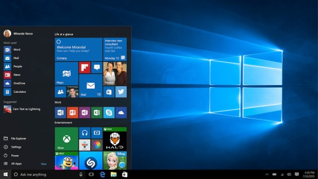 Windows 10 now & # x105 houses ;, & #  x15B; ln & # x105; wallpaper & # x105 ;