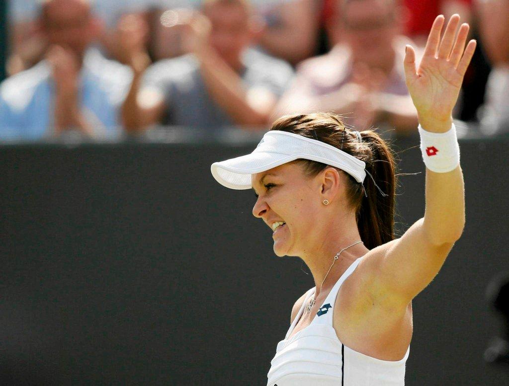 Agnieszka Radwańska - Madison Keys. Transmisja