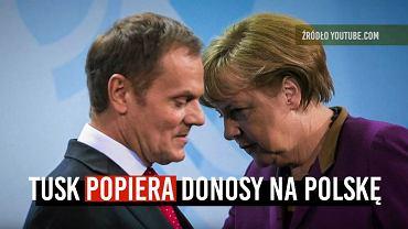 W opublikowanym w środę spocie Prawo i Sprawiedliwość atakuje Donalda Tuska, oskarżając go o antypolskie działania i kryzys w Europie. 'Gazeta Wyborcza' udowadnia, że PiS manipuluje wypowiedziami Tuska i naciąga swoje tezy.