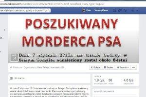 Prawie 2 tys. internaut�w szuka mordercy psa