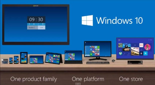 Windows 10 - one system for all devices  & # x105; Equipment