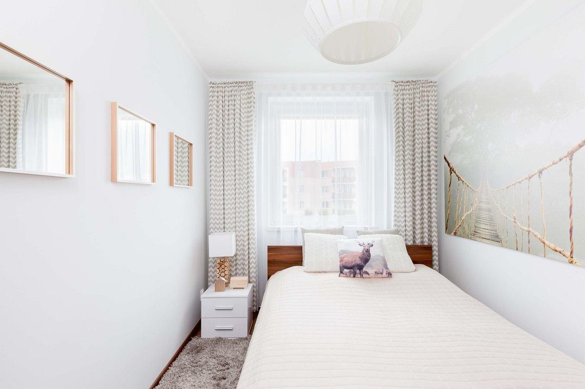 Metamorfoza małej sypialni za 2700 zł - zdjęcie nr 1
