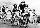 Dwaj panowie na rowerach