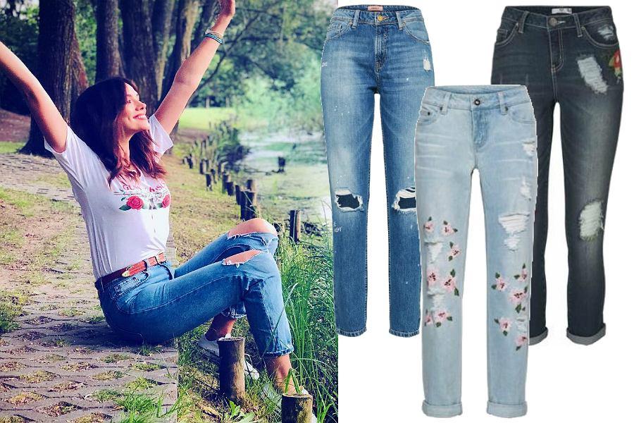Spodnie na lato - jeansy