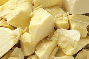 Masło kakaowe - smaczny kosmetyk