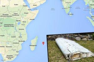 Skrzyd�o samolotu znalezione u wybrze�y francuskiej wyspy. To prawdopodobnie fragment zaginionego boeinga 777