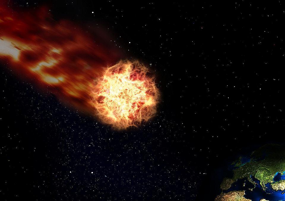 Ogromna kometa leci w kierunku Ziemi