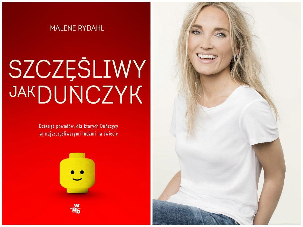 Książka ''Szczęśliwy jak Duńczyk...'' Malene Rydahl w Polsce ukazała się nakładem Wydawnictwa W.A.B. (fot. materiały prasowe)