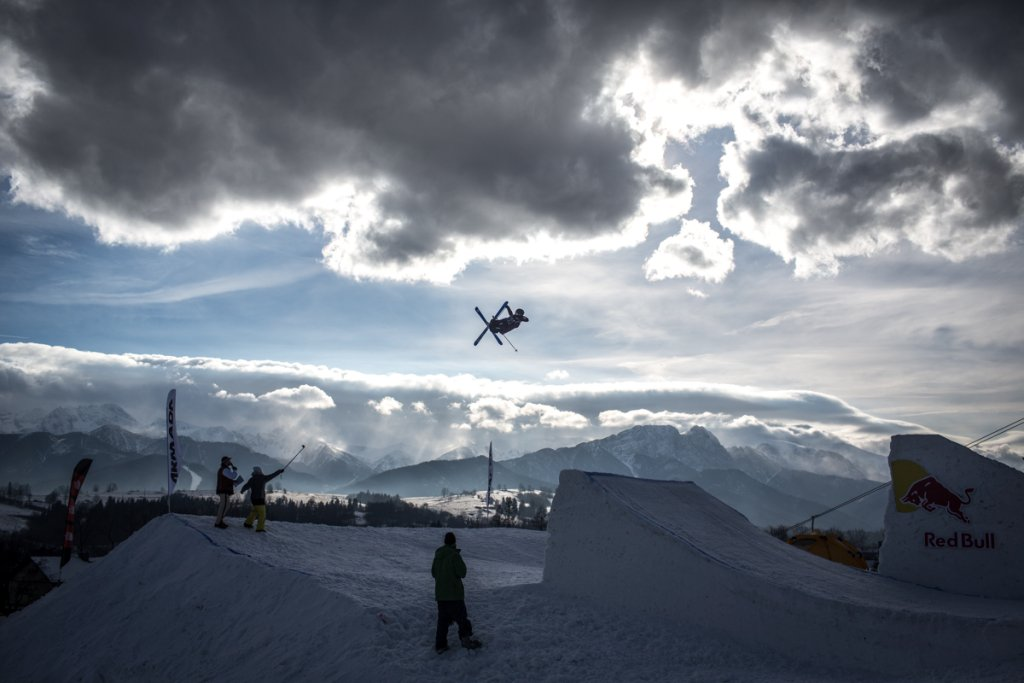 Daniel Antell z Finlandii| The North Face Polish Freeskiing Open 2014. Harenda, Zakopane 31.01-01.02.2014