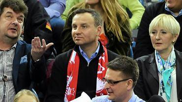 Andrzej Duda na meczu (zdjęcie ilustracyjne)