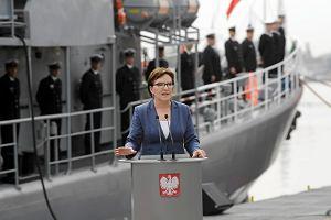 Niszczyciel min zwodowany w Gdańsku. Kormoran dla Marynarki