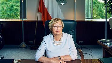 Pierwsza prezes Sądu Najwyższego Małgorzata Gersdorf. Warszawa, 25 czerwca 2018
