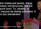 """Żakowski do Biedronia: """"Co teraz? Stanie pan na czele lewicy?"""". A ten bez wahania: """"Nie. Mam umowę z mieszkańcami mojego miasta"""""""
