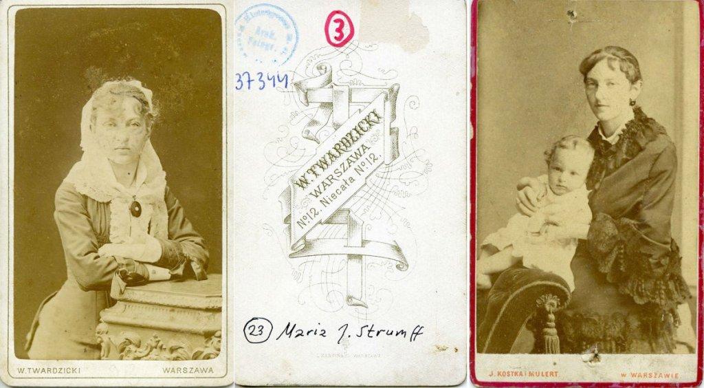 Jadwiga Strumff, początek lat 80. XIX wieku