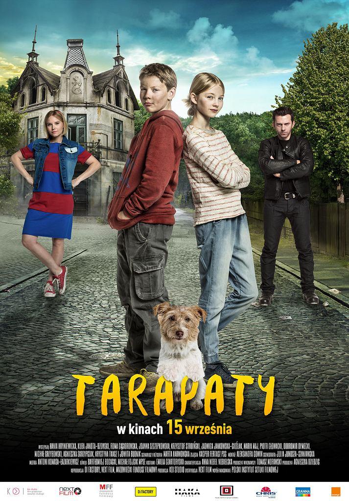 Tarapaty / mat. promocyjne, pierwszy plakat