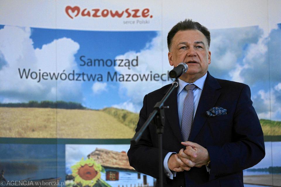 Adam Struzik, marszałek Mazowsza