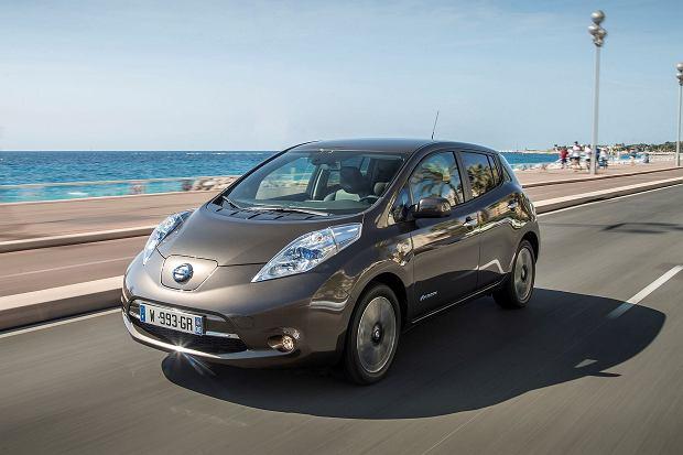 Nissan   LEAF z większą baterią