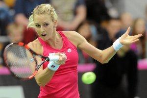 WTA Tiencin. Urszula Radwa�ska odpad�a w drugiej rundzie