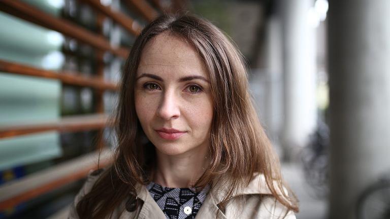 Przedstawicielka partii RAZEM Agnieszka Dziemianowicz-Bąk