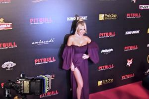 """Doda na premierze """"Pitbull. Niebezpieczne kobiety"""""""