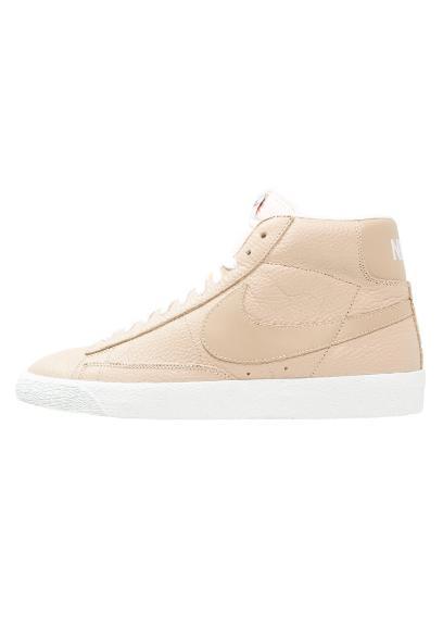 best website 69458 63445 Nike Sportswear BLAZER Tenisówki i Trampki wysokie linen summit white light  brown
