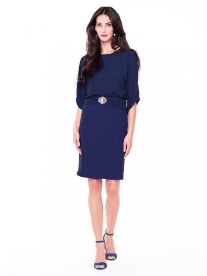 f8dcef1e15 Sukienki na komunię wnuków  modne propozycje dla babci
