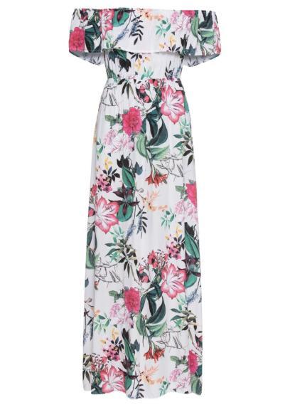 88d4b28115 Kwiatowy wzór nadal modny  mamy kwieciste sukienki w stylu Marceliny ...