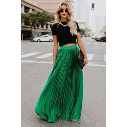 44f15c9c Długie spódnice na lato - kobiece fasony w wakacyjnej odsłonie