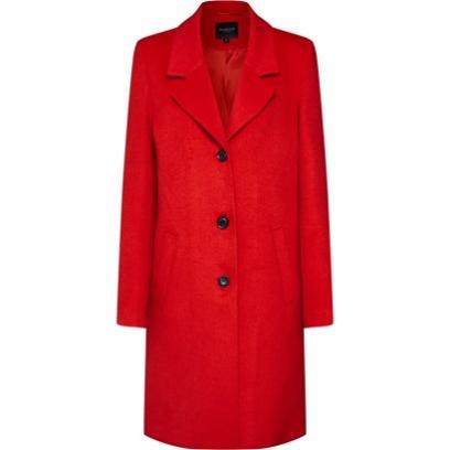 08b36b65d42800 Krótki płaszcz damski na jesień i zimę