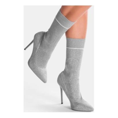 e67155db14f17 Botki skarpetkowe - modne buty jesienne. Do czego pasują botki z ...