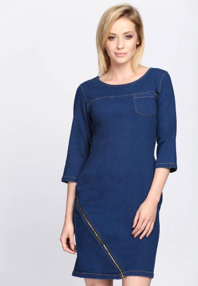 debf671483e0 Sukienki dla dojrzałych kobiet  piękne modele na co dzień i na ...