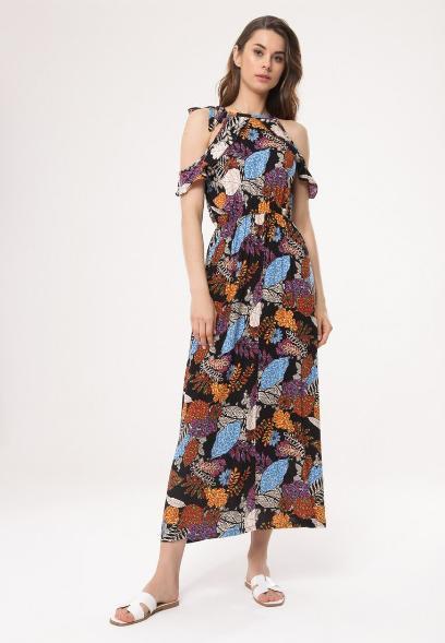 45e59716b120f3 Długie sukienki na lato w pięknych wzorach. Mamy modele na różne okazje