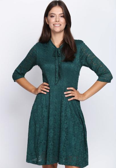 909d1d52f2 Wyprzedaż w Born2be  piękne sukienki na zimę kupisz teraz aż 80% taniej!